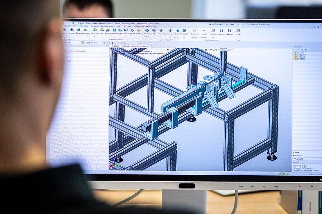 VaW Industriedienstleistungen Konstruktion